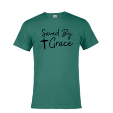 Load image into Gallery viewer, Short Sleeve T-Shirt  - Saved By Grace