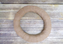 Load image into Gallery viewer, Burlap Wreath