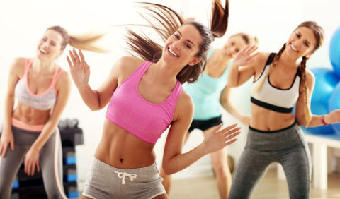 Zumba Fitness Frauen Motivation