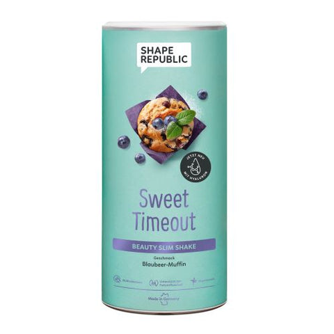 Shape Republic Beauty Slim Shake Sweet Timeout Blaubeer Muffin