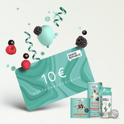 Shape Gutscheine Gift Card Shape Republic €10,00 EUR