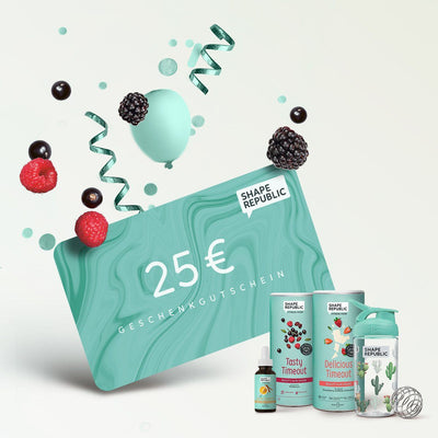 Shape Gutscheine Gift Card Shape Republic €25,00 EUR