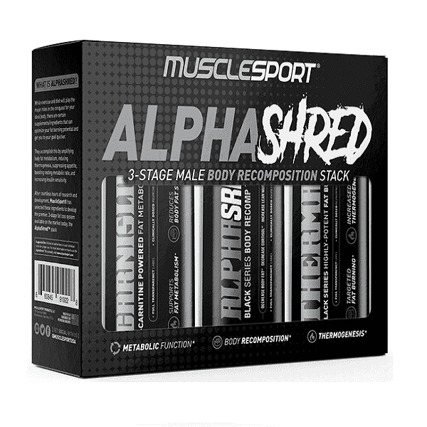 Alpha Shred Cutting Stack Stack by  MuscleSport