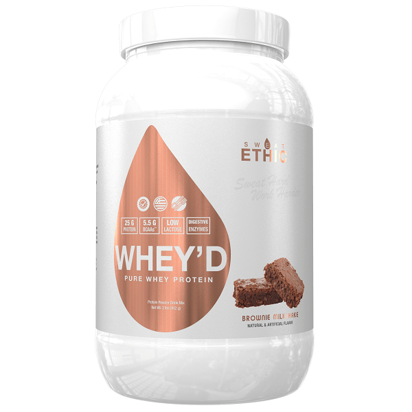 Whey'd Protein by Sweat Ethic