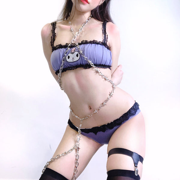 Sweet Devil Lingerie Set