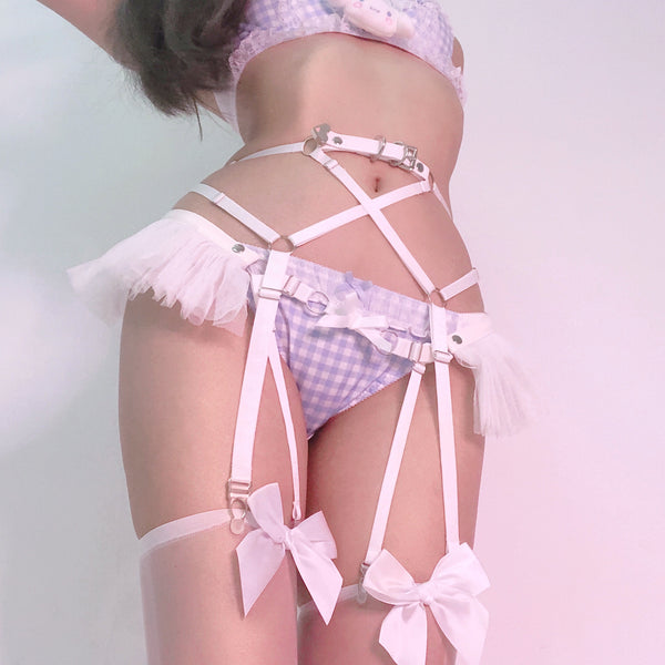 Doll House Harness Set (White)
