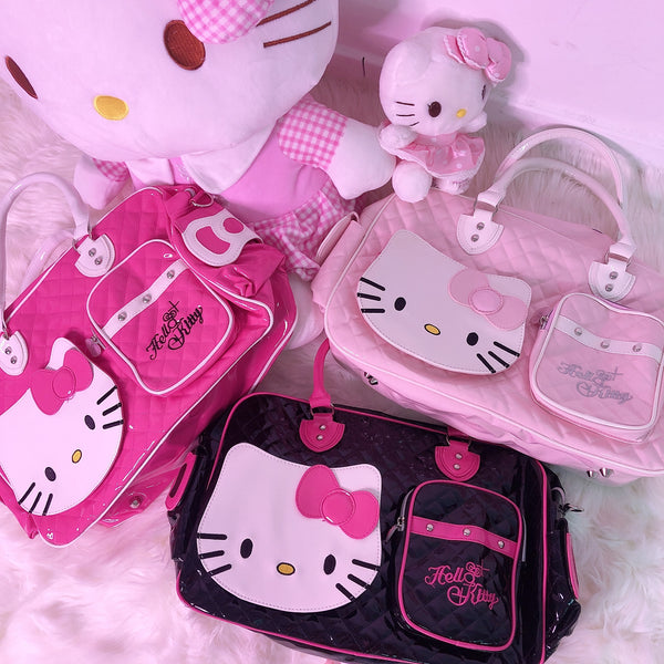 Kitty Quilted Bag (3 Colors)