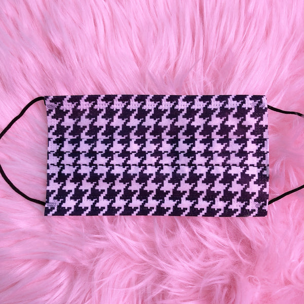Houndstooth Face Mask (5 Pieces)