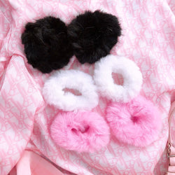 Fluffy Hair Ties (3 Colors)