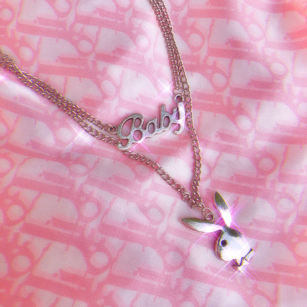 Baby Bunny Combo Necklace