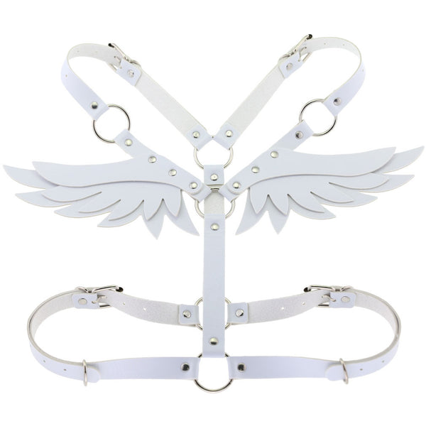 Angel Wings Harness (White)