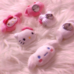 Mini Plushie Brooch