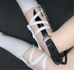 Tied Up Socks (White)