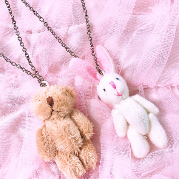Bunny/ Teddy Necklace
