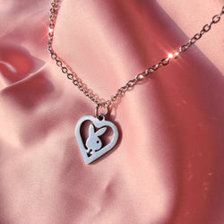 Playmate Heart Necklace