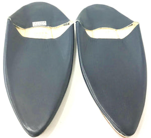 Men Moroccan Traditional Babouches Slippers