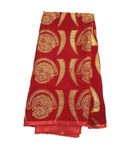 Isi Agu Lion Head Fabric