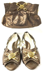 Low Heel & Bag Set S04