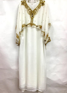 Long Kaftan Stone Cape
