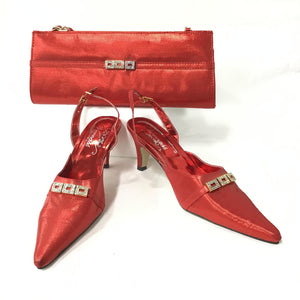 Low Heel & Bag Set S17
