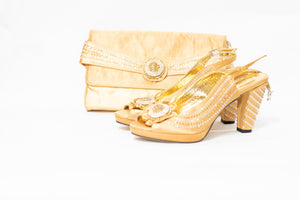 High Heel & Bag Set S08