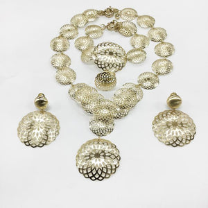Jewelry set gold S20 gold