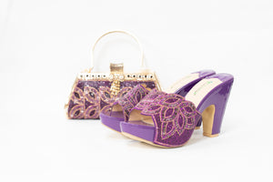 High Heel & Bag Set S02
