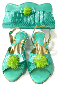 Low Heel & Bag Set S05