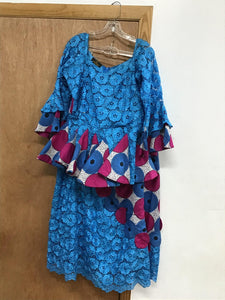 Women owambe skirt &blouse