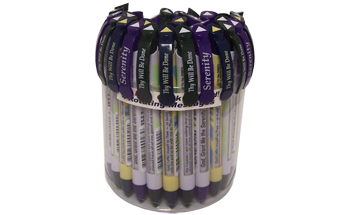 Recovery Prayer Greeting Pen® Trio Value Pack Canister of 36 pens