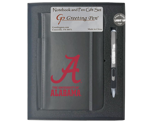 Alabama: University of Alabama Large Notebook Light Up Gift Set