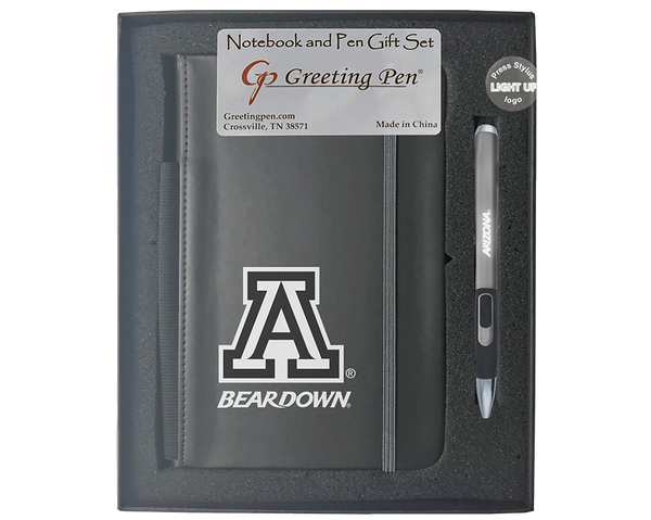 Arizona: University of Arizona Large Notebook Light Up Gift Set
