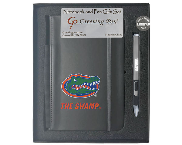 Florida: University of Florida Large Notebook Light Up Gift Set