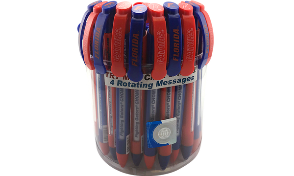 Florida: University of Florida Braggin' Rights® Collegiate Value Pack Canister of 36 pens
