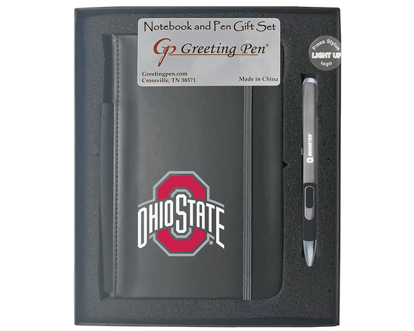 Ohio State: The University of Ohio State Large Notebook Light Up Gift Set