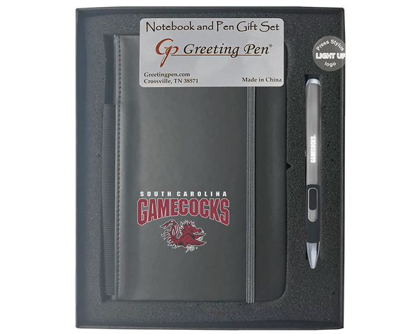 South Carolina: University of South Carolina Large Notebook Light Up Gift Set