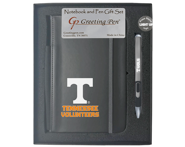 Tennessee: University of Tennessee Large Notebook Light Up Gift Set