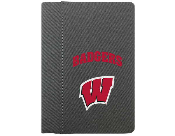 "Wisconsin: University of Wisconsin Badgers 4"" x 6"" Notebook"