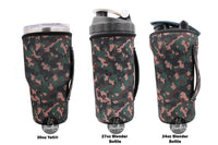 Lit Handlers Camouflage 30oz Handler Fits Yeti and Blender Bottles