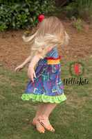 Colorful Alphabet Dress clearance
