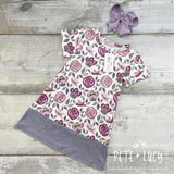 NEW Rebecca Floral Short Sleeve Dress