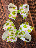 NEW Wee Ones Avocado Hair Bows