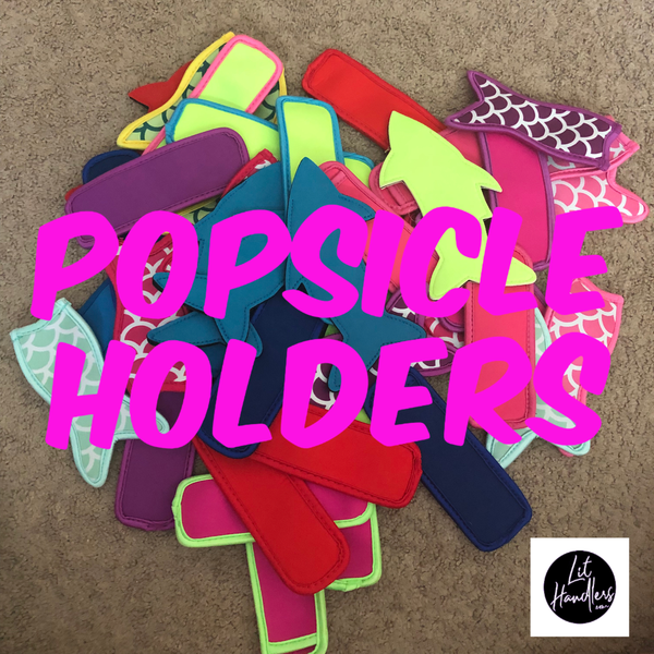 Lit Handlers Solid PopSicle Holders