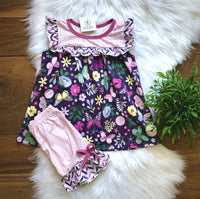 Butterfly Garden Short Set