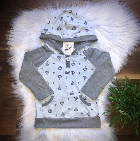 Boys Aztec Hoodie clearance