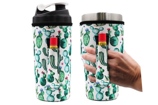 Lit Handlers 30oz Succulents Handler Fits Yeti and Blender Bottles