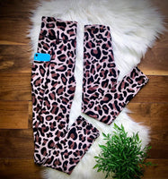 NEW Addy Cole Leopard Leggings