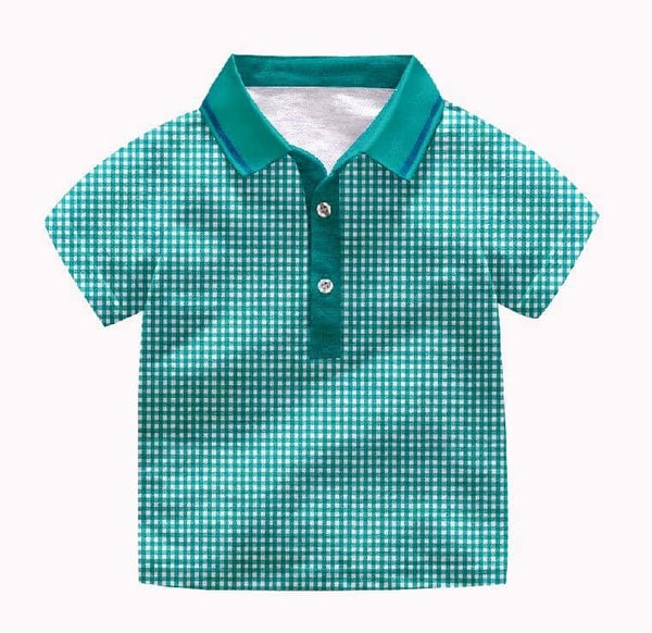 Boys Pecan Picnic Polo Shirt