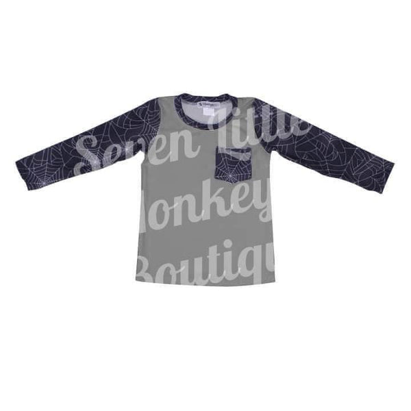 NEW Spooky Boys Long Sleeve Raglan