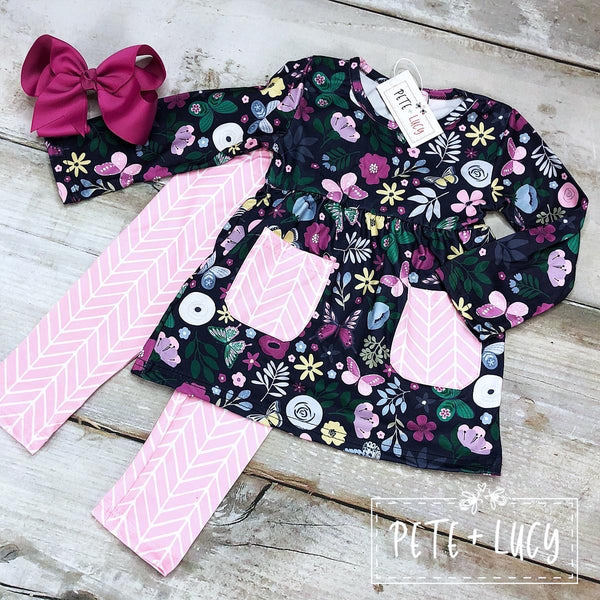 Butterfly Kisses Pant Set